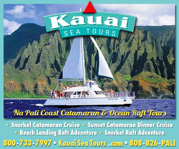 Kauai Sea Tours ad